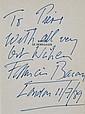 FRANCIS BACON (1909-1992) « Bacon, le hors la loi »