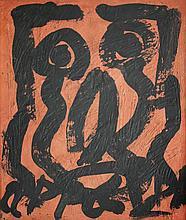 KAREL APPEL  (Amsterdam 1921-2006 Zurich)  Personnages Dansants