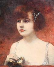 HENRI GERVEX (1852-1929)  Dans la loge