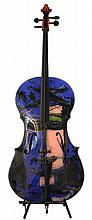 JOSE CHAPELLIER (1946)  « Le Violoncelle »