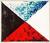 MAN RAY (1890-1976)  Marchand de couleurs, 1974