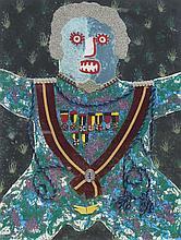 ENRICO BAJ (Milano 1924-2003)  Le médaillé