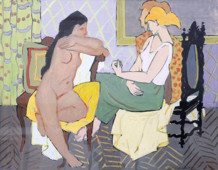 CLEMENT-SERVEAU (1886-1972) Dans l'intimité