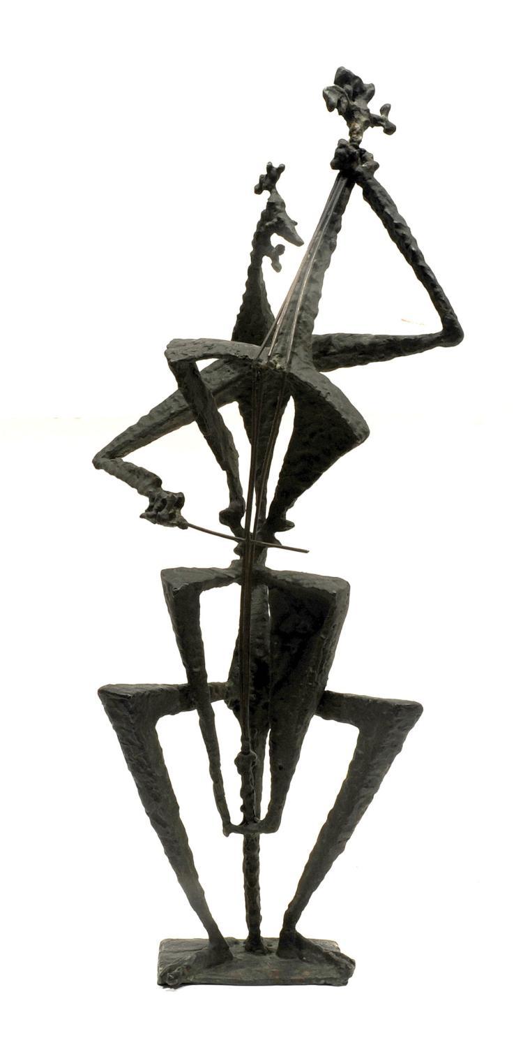 TONY ROSENTHAL (1914-2009) « Le Contrebassiste »