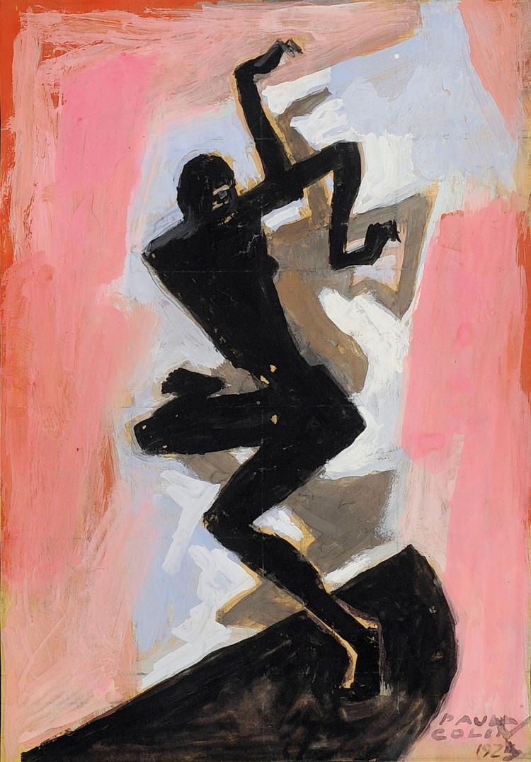 PAUL COLIN (1892-1985) Joséphine Baker, la Revue Nègre, 1925