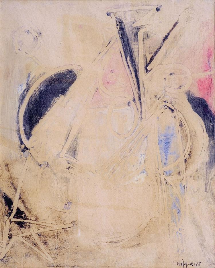 ROBERTO GAETANO CRIPPA (1921-1972) Composition, 1948