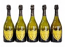 DOM PERIGNON, 2000 5 bouteilles