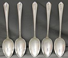 5 PC STERLING SILVER TOWLE LADY DIANA SALAD FORKS