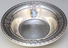 STERLING SILVER DOMINICK & HAFF MARIE ANTOINETTE BOWL