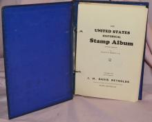 1932 US HISTORICAL STAMP ALBUM REYNOLDS NOT CANCELLED
