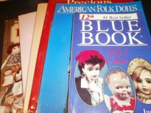 LOT 6 REFERENCE AND GUIDE BOOKS ON DOLLS XC