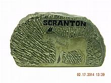 Scranton Coal Paperweight