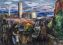 Norah McGuinness HRHA (1901 - 1980)PerugiaOil on board, 56 x 76cm (22 x 30)