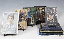 A collection of monographs on Irish art including: Harry Clarke, Nicola Gor