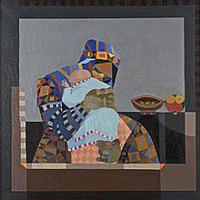 Colin Middleton RHA MBE (1910-1983) El Nene I Oil on canvas, 51 x 61cm (20