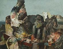 Daniel O'Neill (1920 - 1974)Country CartOil on board, 35 x 46cm (13å_ x 18)