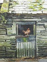 Mark O'Neill (b.1963)Chicken WireOil on board, 64 x 48.5cm (25 x 19.25)Sign