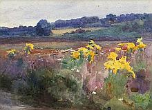 Mildred Anne Butler RWS FRSA RUA (1858-1941) Flowers by the RoadsideWaterco