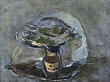 Patrick Collins HRHA (1910 - 1994)Flowerpiece (May 1956)Oil on board, 46 x