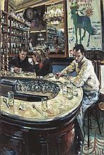 Hector McDonnell RUA (b.1947)Le Fer ÌÁ Cheval, ParisOil on canvas, 91 x 61c