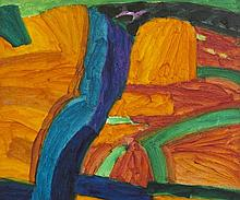 William Crozier HRHA (1930-2011)Harvest on the Cape, CorkOil on canvas, 78