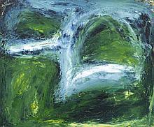 Sean Mc Sweeney HRHA (b.1935)Flooded FieldsOil on canvas, 51 x 60cm (20 x 2