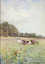 Mildred Anne Butler RA RWS (1858 - 1941) Cattle in