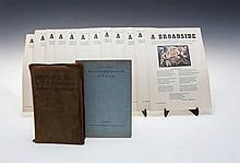 Jack Butler Yeats (1871-1957) Fourth Year Broadsides A loose set of 12 hand