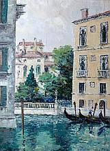 Fergus O'Ryan RHA (1911-1989)  Venice Oil on board, 59 x 44cm (23¼ x 17¼'')