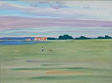James Nolan RHA (b.1929) Portmarnock Oil on canvas, 45.5 x 61cm (18 x 24'')