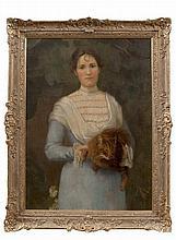 Sarah Henrietta Purser HRHA (1848-1943) Portrait of Constance Alexander (Ne