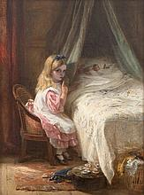 George Bernard O'Neill (1828-1917) Don't Wake the Dolls Oil on canvas, 52.5