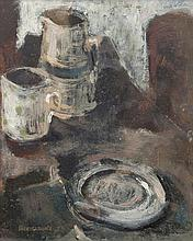 Barrie Cooke HRHA (1930-2014) Still life study Oil on board, 25 x 19.5cm (9