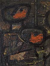 Anthony Benjamin (1931-2002)SpectatorsOil on canvas