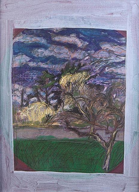 BRIAN BOURKE HRHA (b.1936) Dublin Landscape