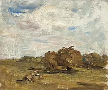 Nathaniel Hone RHA (1831-1917) Haystacks, Howth