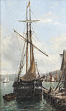 Edwin Hayes RHA (1820-1904) The Quay, West