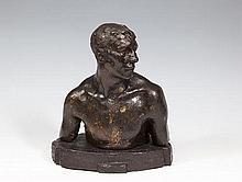 Jerome Connor (1876-1943) The Boxer Bronze, 26cm