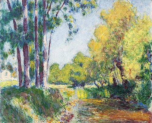 Roderic O'Conor (1860-1940) Landscape with Trees,