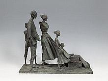 Éamonn O'Doherty (1939-2011) Famine Memorial