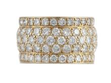 A diamond eternity band by Cartier