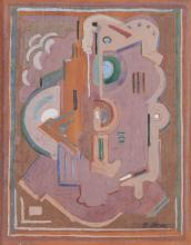 Evie Hone HRHA (1894-1955)Abstract CompositionGouache