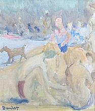 RONALD OSSORY DUNLOP RA RBA (1894-1975) Bathers
