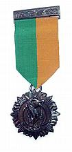 1916 Rising Medal   An original 1916 Rising service medal on original r