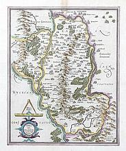 Gerard Mercator, 1512-1594  Ultonia  A map of Eastern Ulster  H