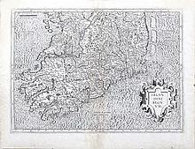 Gerard Mercator, 1512-1594  Ireland - The Northern Half and South