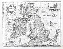 William Blaeu, 1571-1638, Netherlands  Magnae Britanniae et Hiberniae t