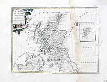 Antonio Zatta 1778  Il Regno Di Scorzia  Colour engraving, 388 x 29
