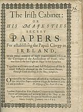 CHARLES I. / COLE, Sir William.  The Irish Cabinet: Or His Majestieƒs secre