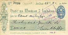 FREE STATE CHEQUES  A very good collection of 40 paid cheques issued ma